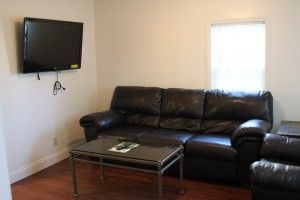 Apartments for Rent in Cortland 128 Tompkins Apt 2 Living Room