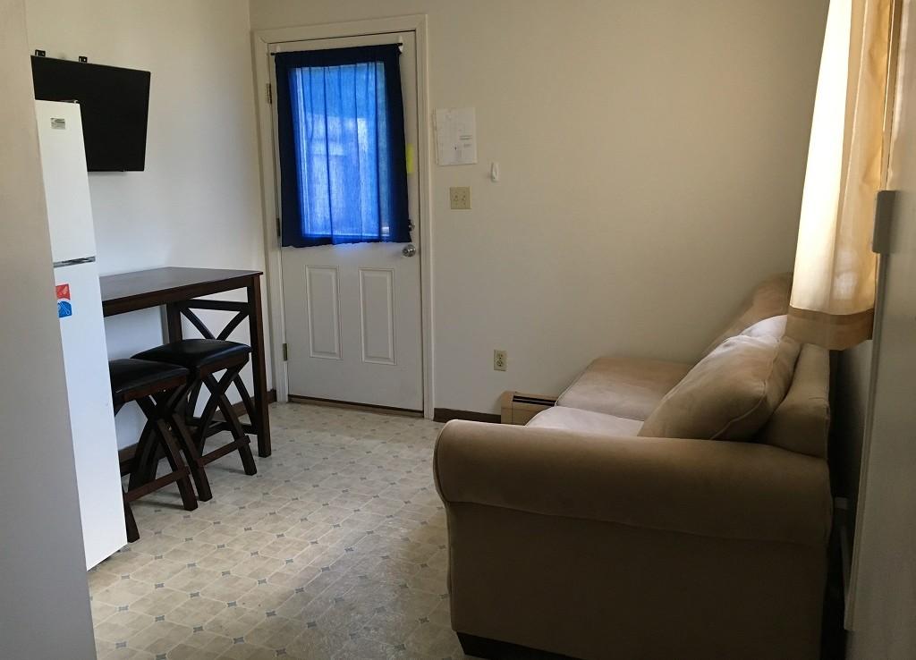 Student Apartment Rentals in Cortland 128 Tompkins St Apt 3 Living Room