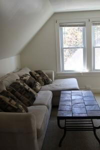 Student Apartment Rentals in Cortland 14-3 Harrington Living Room