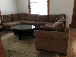 Student Apartment Rentals in Cortland 20 Harrington St Living Room