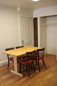 Student Apartment Rentals in Cortland 20 Stevenson St Dining Room