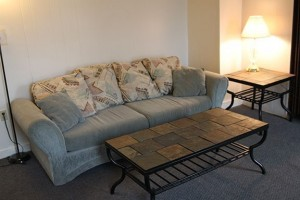 Student Apartments for Rent in Cortland Groton 62A Living Room